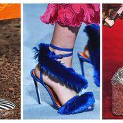 Footwear, Shoe, High heels, Fashion, Leg, Ankle, Electric blue, Sandal, Human leg, Court shoe,