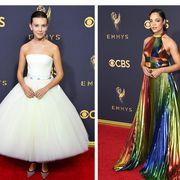 Dress, Clothing, Gown, Red carpet, Carpet, Shoulder, A-line, Strapless dress, Fashion model, Fashion,
