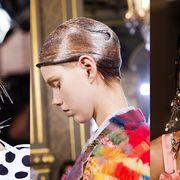Fashion Week SS18 Hair