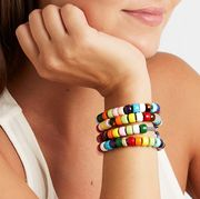 Bracelet, Nail, Fashion accessory, Finger, Jewellery, Hand, Wrist, Arm, Turquoise, Bangle,