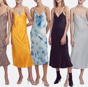 Clothing, Fashion model, Dress, Fashion, Day dress, Yellow, Bridal party dress, Formal wear, Fashion design, Cocktail dress,