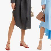 Clothing, Blue, Footwear, Fashion, Street fashion, Human leg, Dress, Shoe, Leg, Ankle,