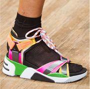Footwear, Shoe, Ankle, Sneakers, Plimsoll shoe, Street fashion, Fashion accessory, Calf,