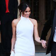 Meghan Markle's second wedding dress