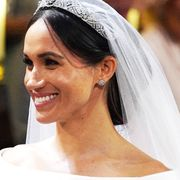 Hair, Headpiece, Hair accessory, Veil, Bridal veil, Bride, Bridal accessory, Hairstyle, Tiara, Skin,