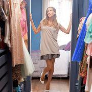 Clothing, Boutique, Pink, Closet, Room, Fashion, Dress, Outerwear, Footwear, Wardrobe,