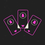 Pink, Font, Text, Graphic design, Logo, Magenta, Illustration, Design, Graphics, Animation,