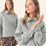 Clothing, Outerwear, Sweater, Neck, Hoodie, Sleeve, Fashion, Top, Hood, Wool,