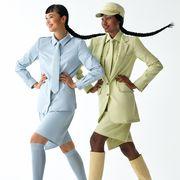 Leg, Sleeve, Joint, Collar, Uniform, Knee, Fashion, Gesture, Costume design, Suit trousers,