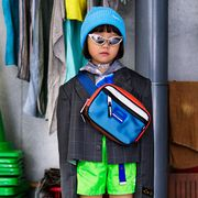 Blue, Green, Eyewear, Uniform, Action figure, Fictional character, Toy, Glasses, Photography, Costume,