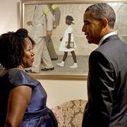 obama white house art
