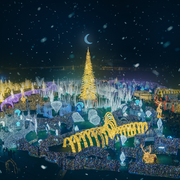 Enchant in St. Petersburg, Florida - World's Largest Christmas Light Maze
