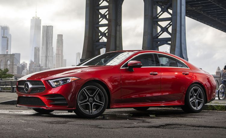 The 2019 Mercedes-Benz CLS Is a Lot More Expensive Than the E-class