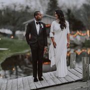 Photograph, Suit, Bride, Formal wear, Dress, Wedding, Water, Ceremony, Photography, Tuxedo,