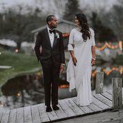 Photograph, Suit, Bride, Formal wear, Dress, Wedding, Water, Ceremony, Photography, Tuxedo,