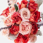 Flower, Bouquet, Flower Arranging, Cut flowers, Garden roses, Floristry, Floral design, Red, Rose, Pink,
