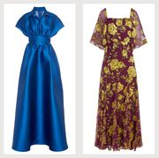 luisa beccaria dress, lele rose dress, alice  olivia dress, givenchy dress