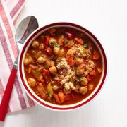 chickpea red pepper soup