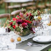 best fall wedding colors