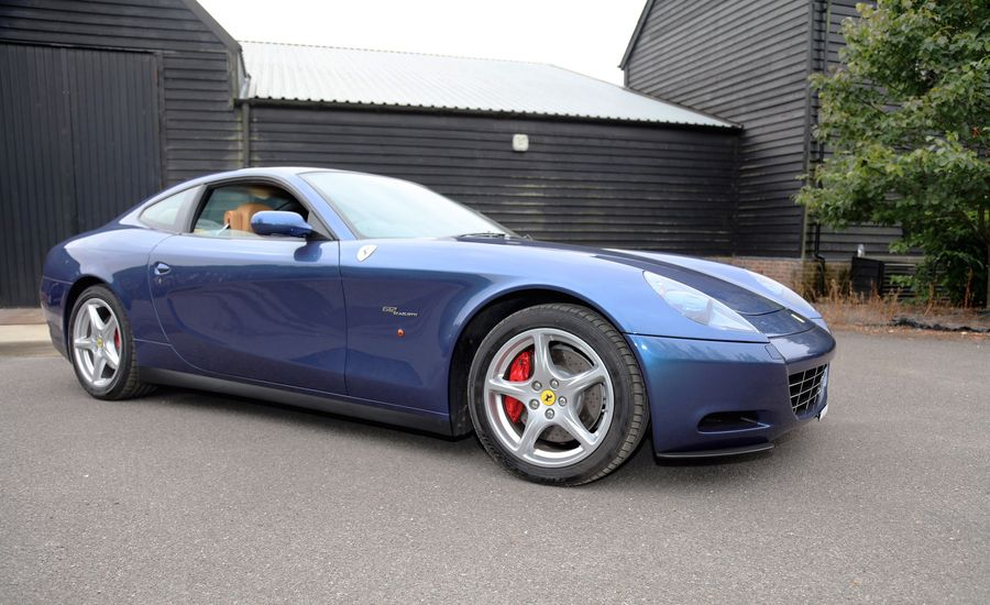 2004 Ferrari 612 Scaglietti Formerly Owned by Eric Clapton Offered for Sale