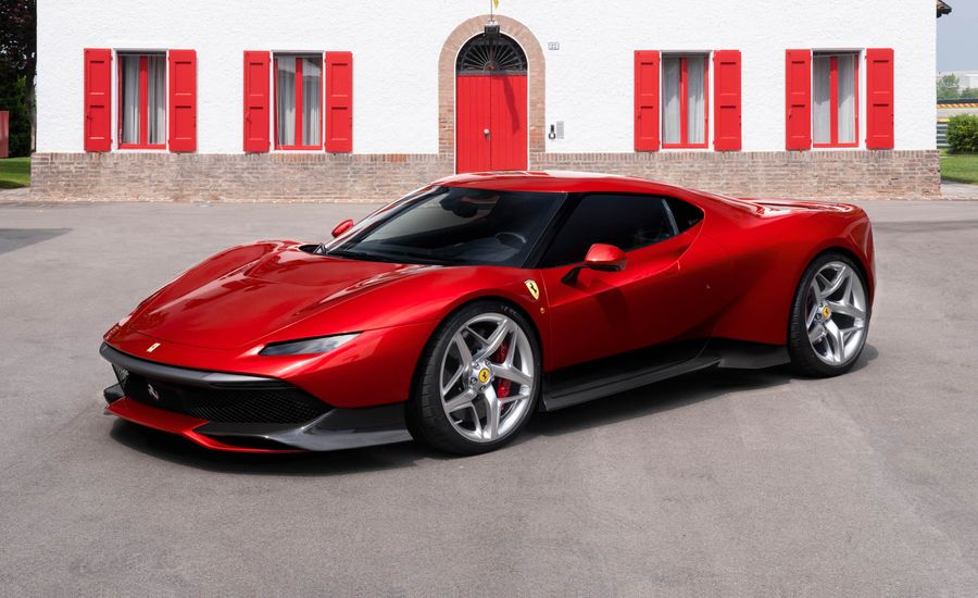 Thank-You Car: One-Off Ferrari SP38