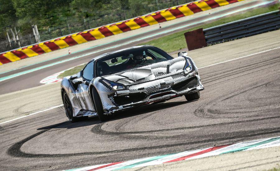 The 2019 Ferrari 488 Pista Is Lighter, Louder, Spinnier, Slidier