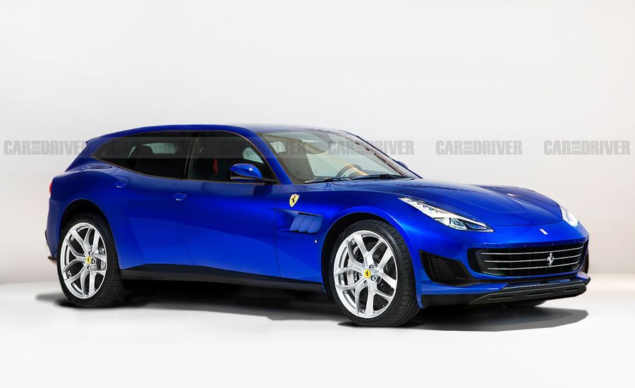 Ferrari's Hybrid Crossover Is Officially Coming by 2022