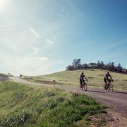 riding bikes on mount figueroa
