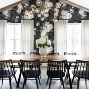 Dining room, Room, Furniture, Property, Interior design, Table, Lighting, Building, Ceiling, Kitchen & dining room table,