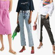 Clothing, Jeans, Footwear, Fashion, Denim, Outerwear, Fashion design, Shoe, Trousers, Dress,