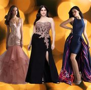 Fashion model, Dress, Clothing, Gown, Formal wear, Fashion, Yellow, Haute couture, Shoulder, Fashion design,