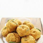 fluffy pumpkin sage vegan muffins