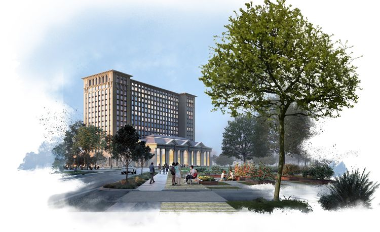 Ford Details Its Plan for Michigan Central Station