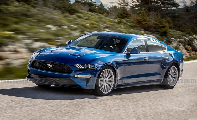 A Four-Door Ford Mustang Is Not as Crazy as It Sounds