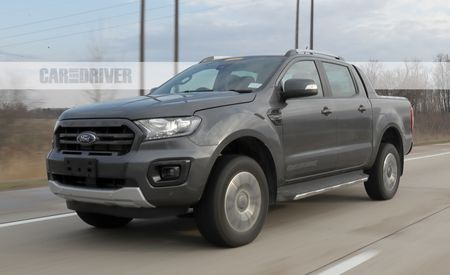 2019 Ford Ranger Wildtrak Takes Off Its Mask in Michigan