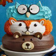 Forest Friends Cakerecipe