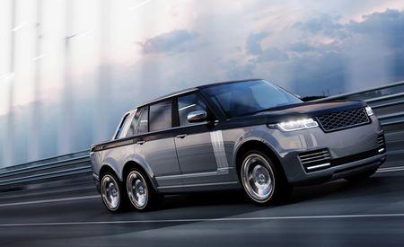 Range Rover 6x6 Is 20 Feet of Luxo-Fetish