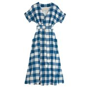 Clothing, Plaid, Pattern, Sleeve, Design, Textile, Tartan, Day dress, Dress, Pattern,