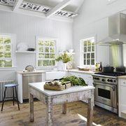 White, Green, Furniture, Room, Interior design, Ceiling, Property, Building, Floor, Kitchen,