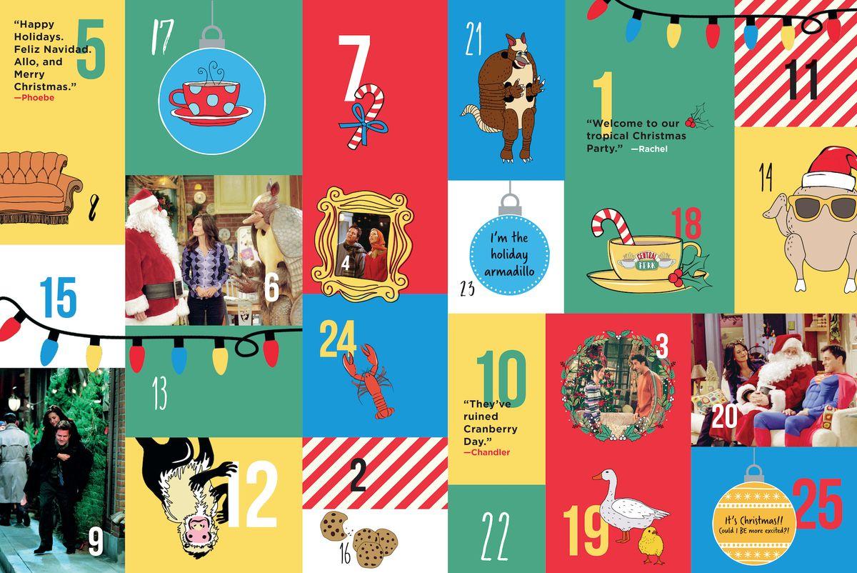 friends tv show advent calendar