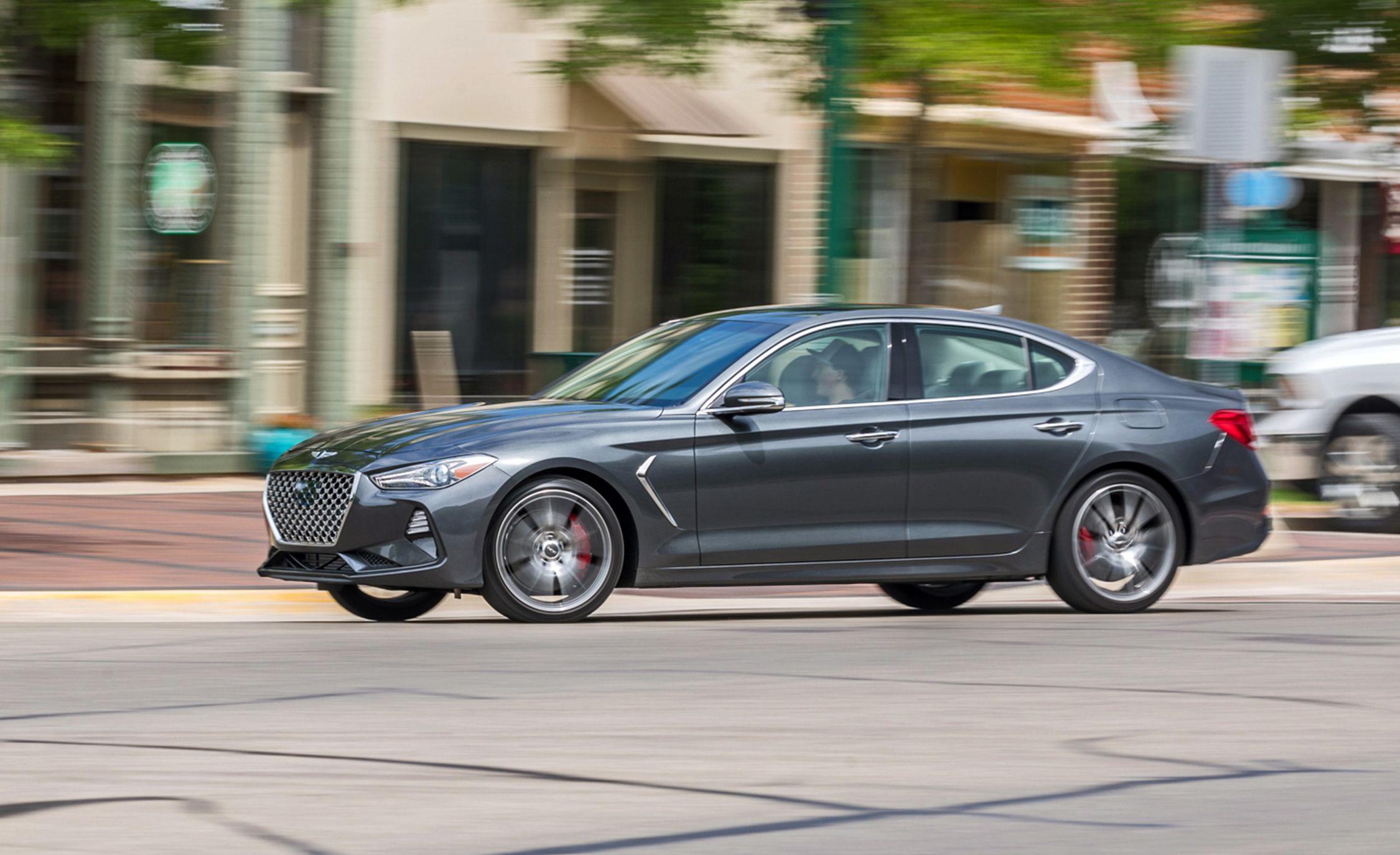 The 2019 Genesis G70 2.0T Manual Falls Just Shy of Sports-Sedan Legitimacy