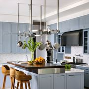 blue kitchen zillow study