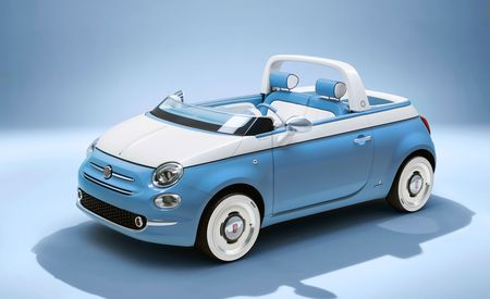 The Topless Fiat 500 Spiaggina Has Loads of Colorful Italian Style