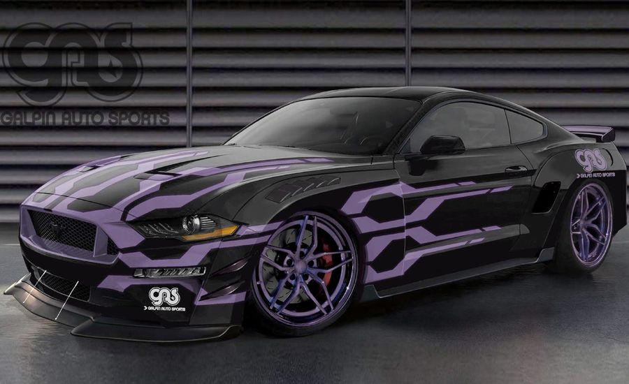 These Five Modified Ford Mustangs for SEMA Range from Mild to Wild