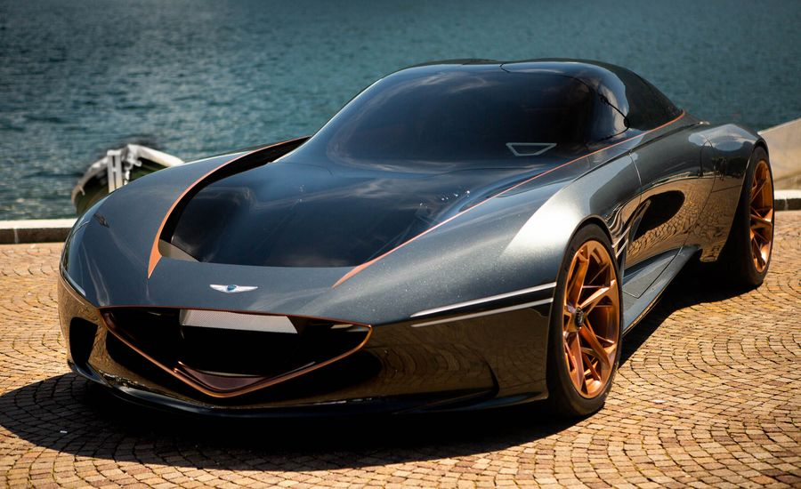 Genesis Essentia Concept Wows at Lake Como