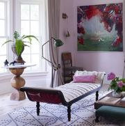 decorate with pastels   elle decor