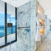 penthouse marble bathroom
