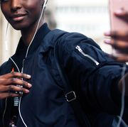 Hair, People, Street fashion, Fashion, Afro, Hairstyle, Smile, Black hair, Human, Street,