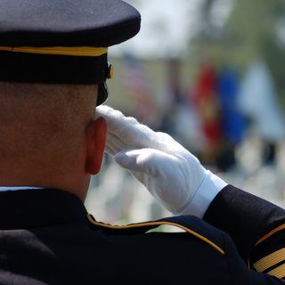 memorial day quotes - soldier saluting