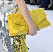 Yellow, Fashion, Street fashion, Haute couture, Design, Fashion design, Pattern, Textile, Fashion accessory, Style,